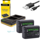 Patona nabíječka Foto Dual Quick Sony NP-FW50 + 2x baterie 1030mAh USB