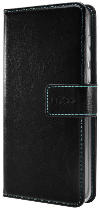 FIXED Opus pouzdro typu kniha pro Nubia Z17 Mini, černé