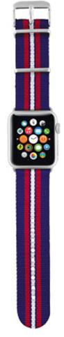 Trust náramek pro Apple Watch 38mm, modrá proužky