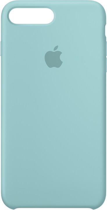 Apple Silikonový kryt na iPhone 7 Plus/8 Plus – jezerně modrý