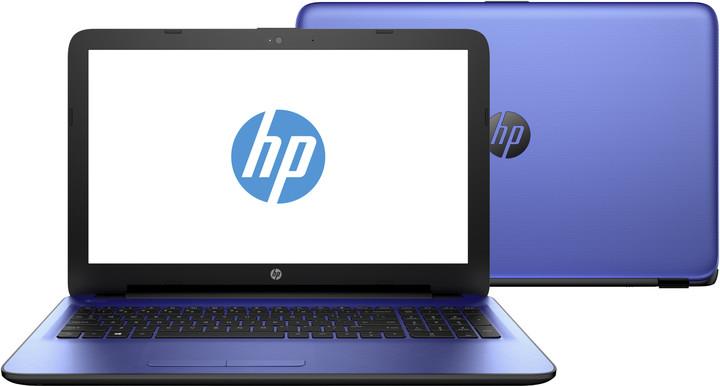HP 15 (15-ac118nc), modrá