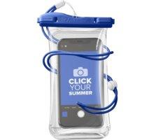 CellularLine vodotěsné pouzdro pro mobilní telefony, univerzální, IPX8, modrá - VOYAGER20B
