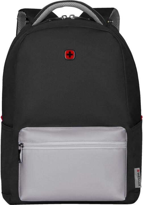 """WENGER COLLEAGUE - 16"""" batoh na notebook, černá/šedá"""