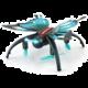 JJR/C H42WH Butterfly dron - motýl, 2.4GHz, HD kamera, černá/modrá v hodnotě 1 790 Kč