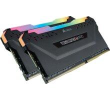 Corsair Vengeance RGB PRO 16GB (2x8GB) DDR4 3200, černá CL 14 CMW16GX4M2C3200C14