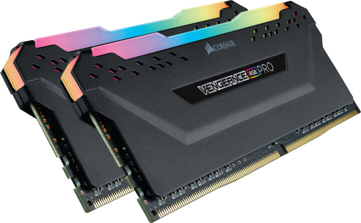 Corsair Vengeance RGB PRO 16GB (2x8GB) DDR4 3200, černá