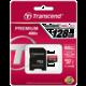 Transcend Micro SDXC Premium 400x 60MB/s UHS-I + SD adaptér