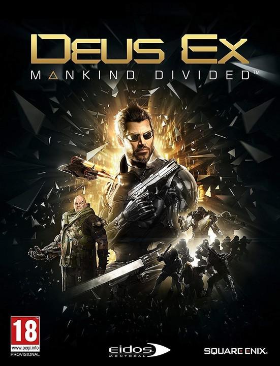 Deus Ex: Mankind Divided (PC) - elektronicky