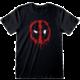 Tričko Deadpool Splat Face (XXL)