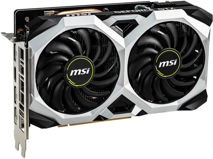 MSI GeForce GTX 1660 Ti VENTUS XS 6G OC, 6GB GDDR6