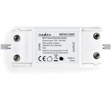 Nedis Wi-Fi chytrý spínač pro elektrický obvod, 10 A - WIFIPS10WT