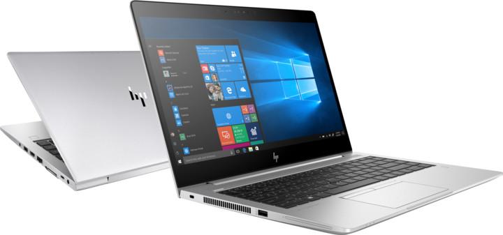 HP EliteBook 840 G5, stříbrná