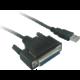 PremiumCord převodník USB na LPT (canon 25 F)