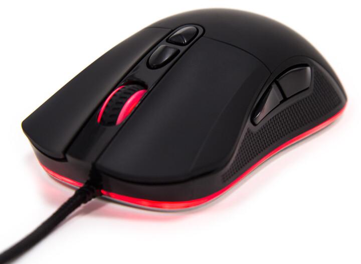 CZC.Gaming BlackGuard, herní myš