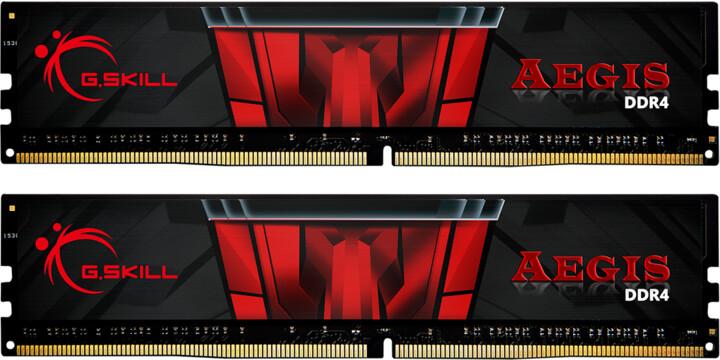 G.Skill Aegis 16GB (2x8GB) DDR4 3200 CL16