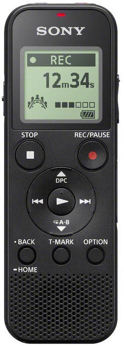 SONY ICDPX370, 4GB, černá