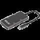 Club3D USB Data Hub USB-C Gen2 na 2x USB-A + 2x USB-C, aktivní, černá
