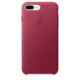 Apple iPhone 7 Plus Leather Case, Berry