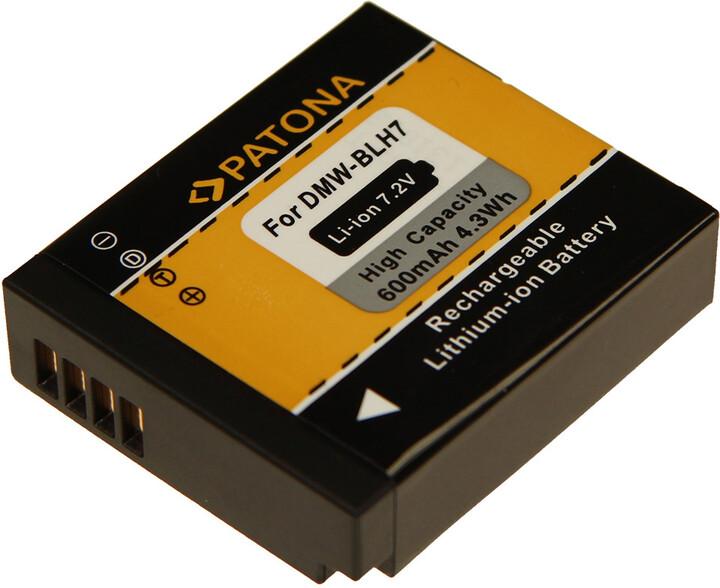 Patona baterie pro Panasonic DMW-BLH7E 600mAh Li-Ion