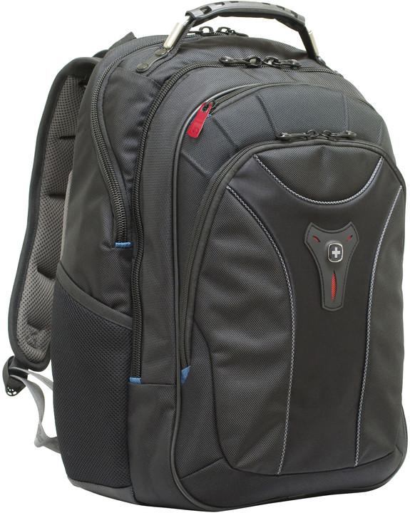 "WENGER CARBON - 17"" batoh na notebook, černý"