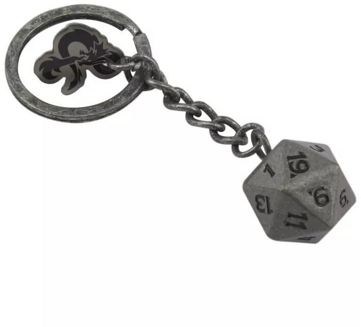 Klíčenka Dungeons & Dragons - D20