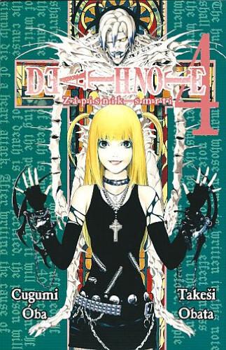 Komiks Death Note 04 :Zápisník smrti