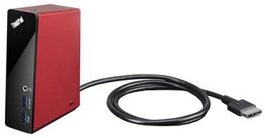 Lenovo ThinkPad OneLink Dock, červená