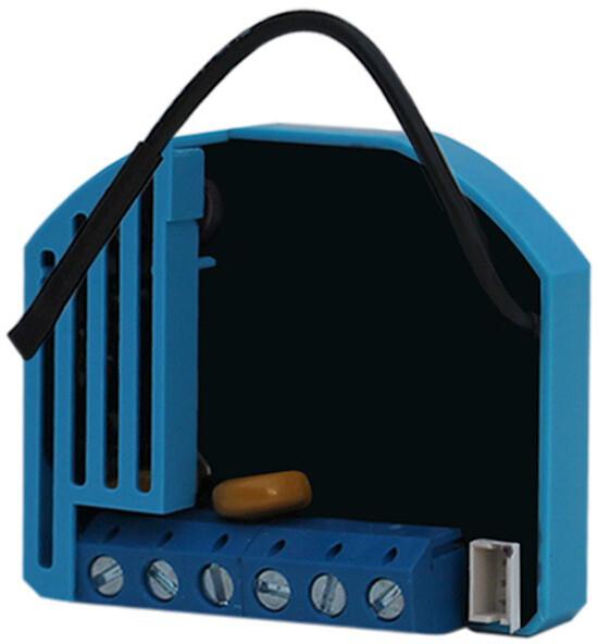 QUBINO stmívač modul, 1x 230V, stmívání / ovládání ventilátoru, měření spotřeby,