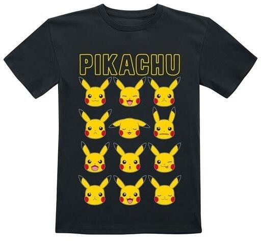 Tričko Pokémon: Pikachu Faces, dětské, (5-6 let)