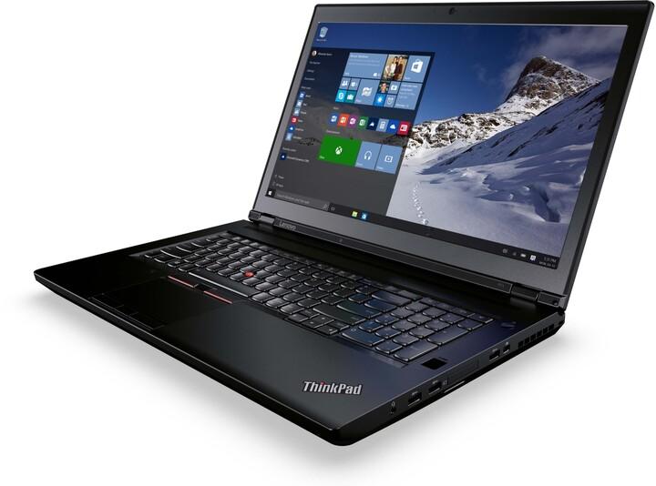 Lenovo ThinkPad P71, černá