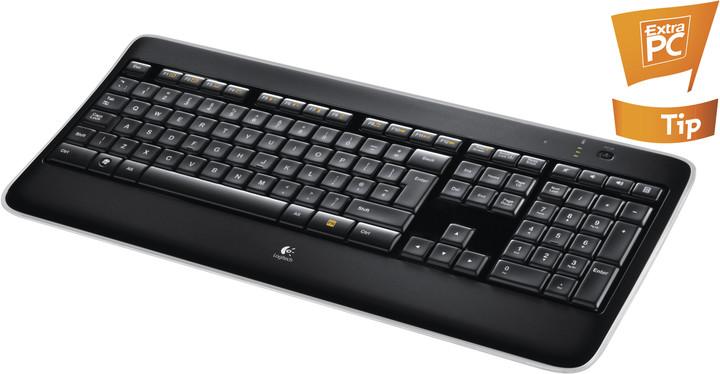 Logitech K800, US