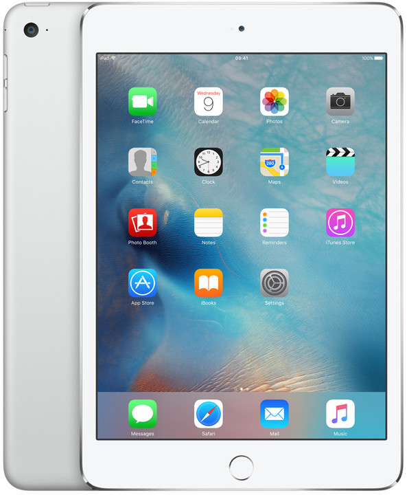 APPLE iPad Mini 4, 32GB, Wi-Fi, stříbrná