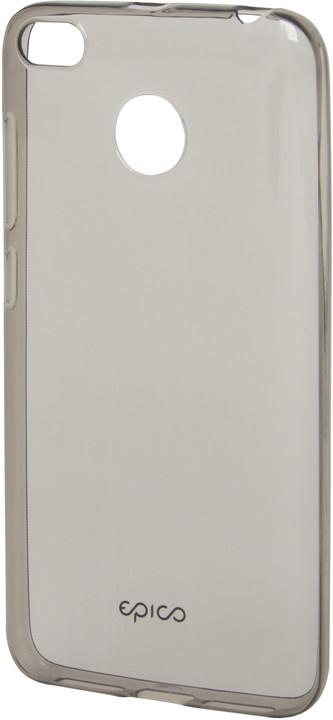 EPICO pružný plastový kryt pro Xiaomi Redmi 4X RONNY GLOSS - černý transparentní
