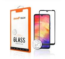 RhinoTech 2 tvrzené ochranné 2.5D sklo pro Xiaomi Redmi Note 7 (Edge Glue), černá