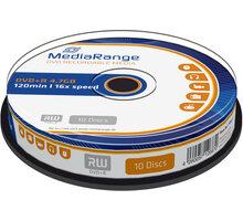 MediaRange DVD+R 4,7GB 16x, Spindle 10ks - MR453