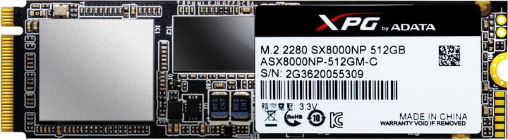 ADATA XPG SX8000, M.2 - 512GB
