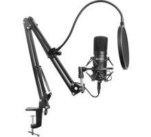 Sandberg Streamer Kit, šedý/černý 5x 100 Kč slevový kód na hry a herní merchandising nad 499 Kč