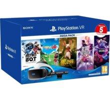 PlayStation VR v2 + Kamera v2 + PS5 adaptér + 5 her (VR Worlds, Moss, Blood & Truth, Astrobot, Ev. Golf) - PS719809296