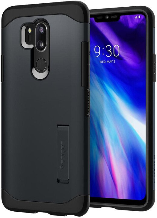 Spigen Slim Armor LG G7 ThinQ, metal slate