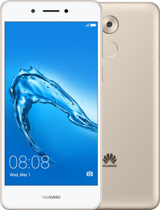 Huawei Nova Smart, Dual Sim, zlatá