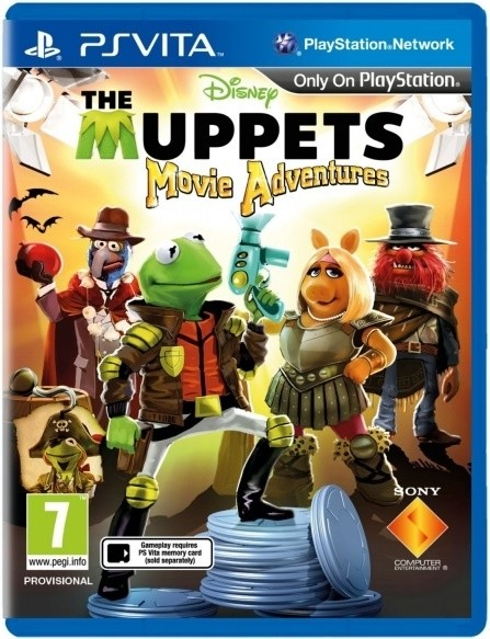 Muppets Movie Adventures (PS Vita)