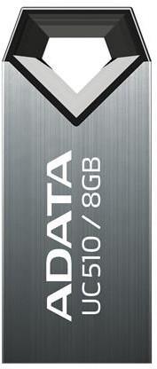 ADATA UC510 8GB, titanová