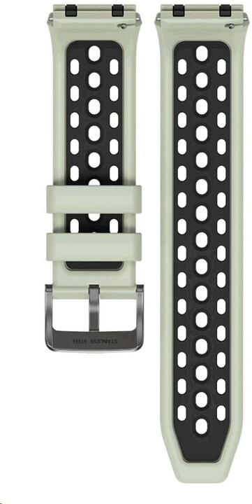 Huawei silikonový řemínek pro Watch GT2e, 22mm, zelená/černá