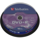 Verbatim DVD+R General 16x 4,7GB spindl 10ks