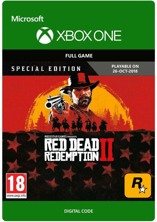 Red Dead Redemption 2: Special Edition (Xbox ONE) - elektronicky