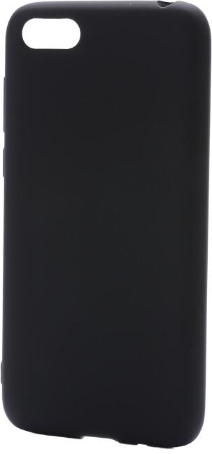 Epico Pružný plastový kryt pro Huawei Y5 (2018) SILK MATT, černý