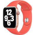Apple řemínek pro Watch Series, sportovní, 44mm, růžová