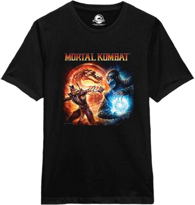 Tričko Mortal Kombat - Fire and Ice (S)