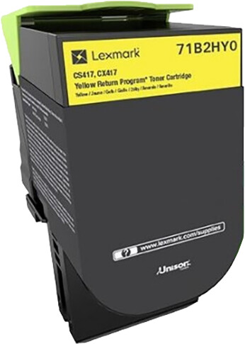 Lexmark CS/X417, yellow