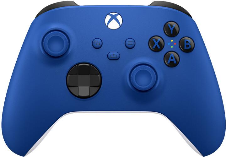 Xbox Series Bezdrátový ovladač, modrý (PC, Xbox Series, Xbox ONE)